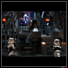 LEGO Imperial Home Theater (ErnestoCarrillo70) Tags: starwars lego imperial vader minifig hometheater diorama