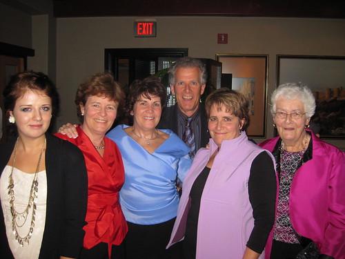 Alix Albert, Beverley Simpson, Kathy Schlitzer, myself, Barbara Foreman, Elizabeth Foreman