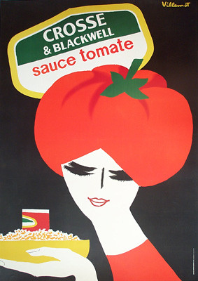 Villemot Crosse & Blackwell Sauce Tomate