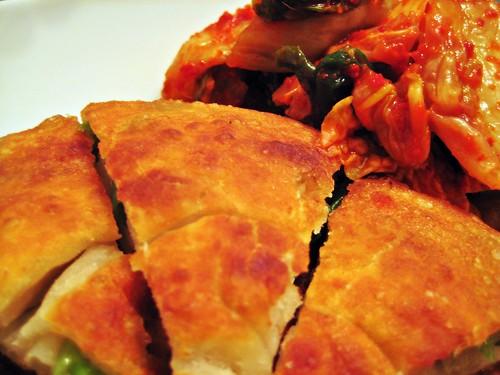 G.O. Pancake with Kimchi