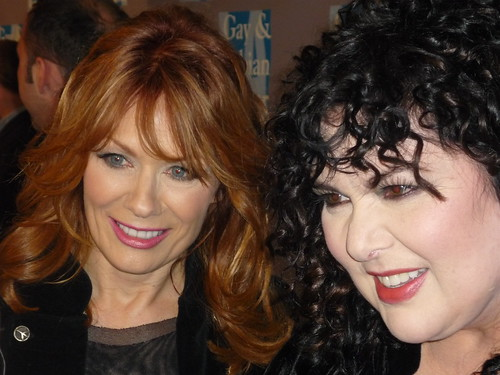 Nancy Wilson and Ann Wilson of Heart by you.