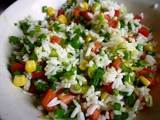 Chillies & Lime: Rice Salad