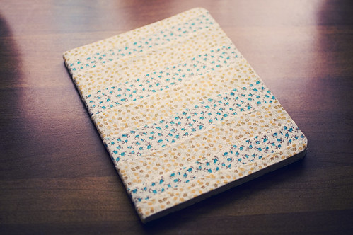 133.365: the fabric covered notebook