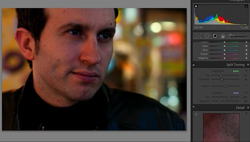 Modificando el color de la piel usando Split Toning en LR3 class=