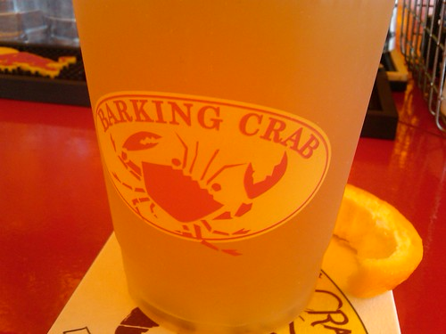 barking crab beer
