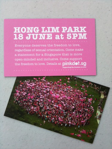 Come join us at Hong Lim Park, like, NAO