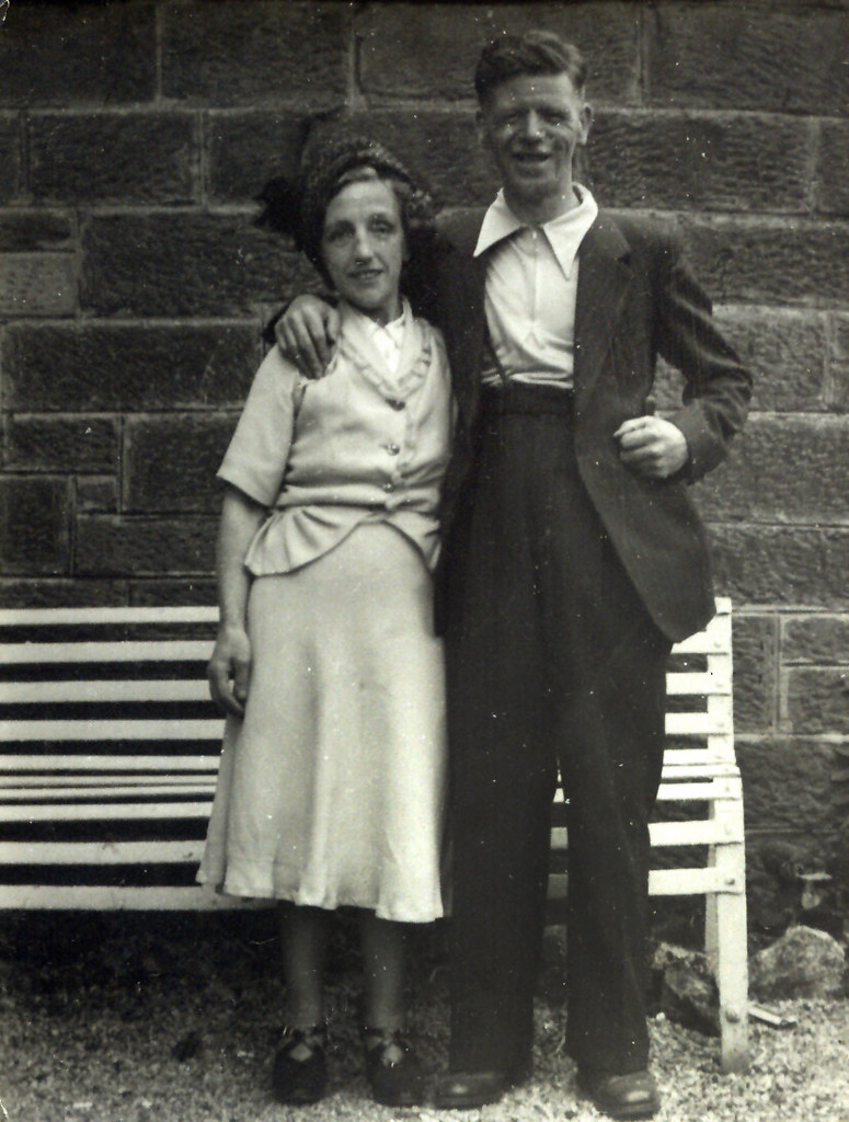Lizzie and Charlie McLachlan 1940s