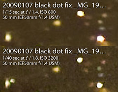 Look, Ma! No 5D Mark II black dots (stshank) Tags: fix problem firmware artifact glitch workrelated blackdots cnetwork 5dmarkii