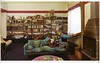 Italian architect Egle Amaldi's own living room (ouno design) Tags: italy comfortable modern italian mod 60s bookshelf livingroom architect hammock 70s hippie bookcase simple decor cado pinktable egleamaldi