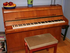 Bentley Compact Upright Piano 85c