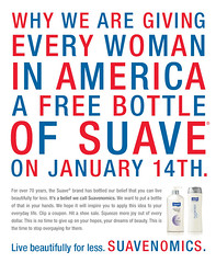 Free Suave today only!