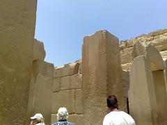 Tempel bij de Piramide (R. Meuwissen) Tags: cairo egypte tempel cheops chefren piramiden