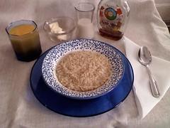 mezzacotta Café: Boiled Oats