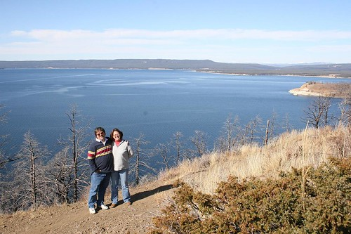 Mom & Dad at Yellowstone Lake