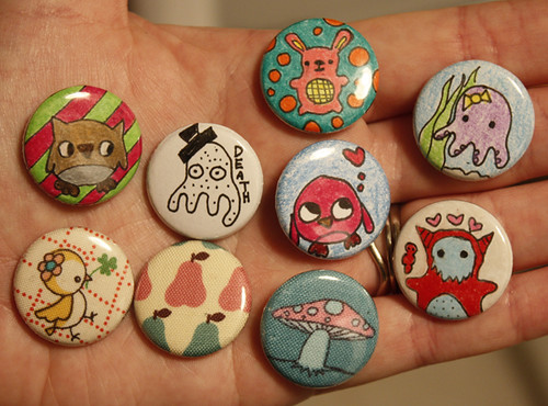 Button making- mine
