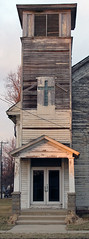 Auburn IL - Abandoned Church, Northeast Corner...