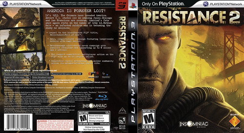 Resistance 2 Cover 1