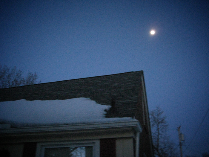 moon over my house