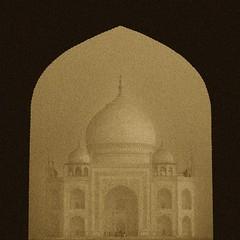 Sepia Taj