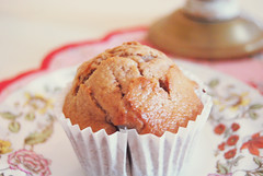 {muffin} ({Jessica Louise}) Tags: pink baking chocolate caramel muffin bakedgoods