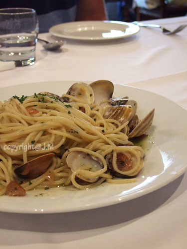 Clam & Spaghetti