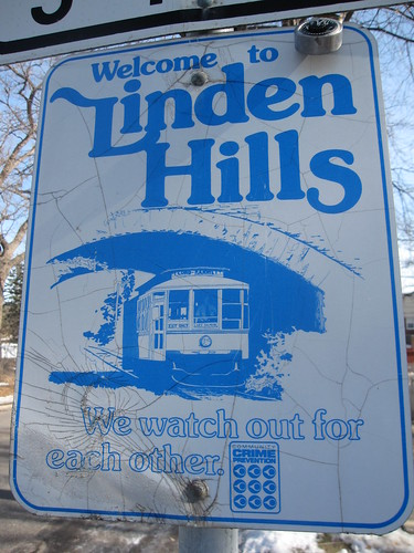 Linden Hills Sign