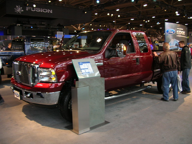 auto show toronto ford 2006 international f250