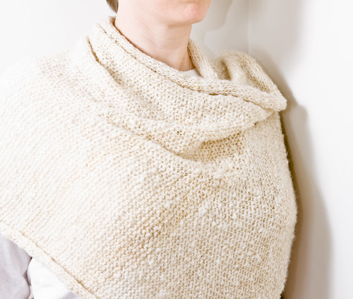 Winter Whites: Santiago Shawl