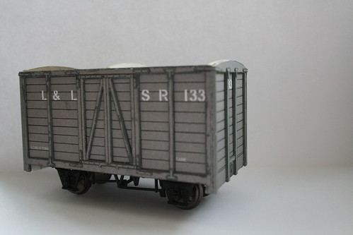 Londonderry & Lough Swilly Railway van 133