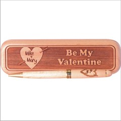 Be My Valentine 1000 (Wooden Pen Works) Tags: love maple valentine sweetheart woodenpen laserengraved