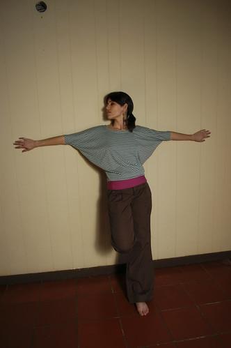 blusa: papalote