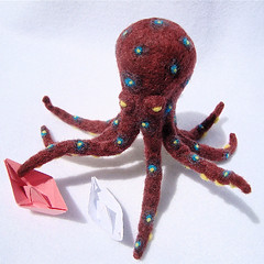 Needle-Felted Octopus 3