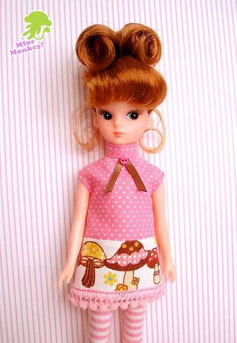 MforM Pink Mushroom Dress