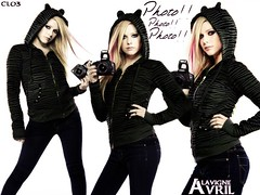 Avril Lavigne (Photo!!) ( Areli Garca) Tags: camera avril lavigne photho cl03