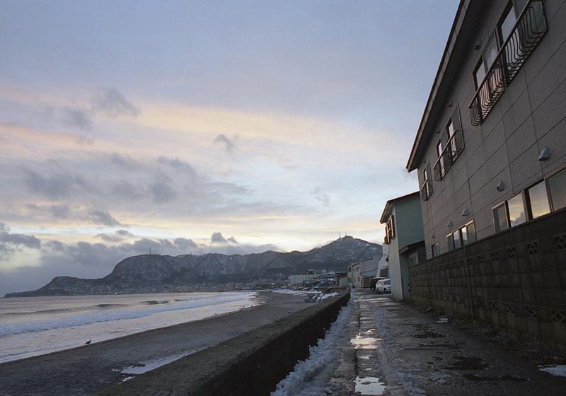 函館の海岸