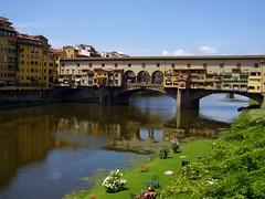 The Ponte Vecchio (Click And Pray) Tags: bridge river florence ponte firenze pontevecchio vecchio