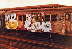 (Laser Burners) Tags: nyc newyorkcity film 35mm graffiti boom oldschool negative scanned gothamist streetsy 1990s flicks citynoise