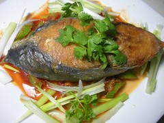 King Mackerel in Tomato Sauce (Chef Tony Ngo) Tags: food tomato mackerel king sauce tony ngo