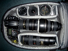 What can you fit in Lowepro Mini Trekker AW (Kent Yu Photography) Tags: camera bag nikon gear mini collection backpack aw lowepro trekker d700 flipside400