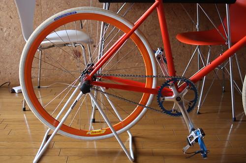 Tokyobike rear wheel
