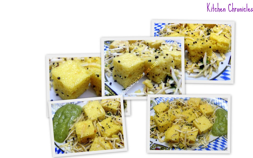 Khaman Dhokla Collage