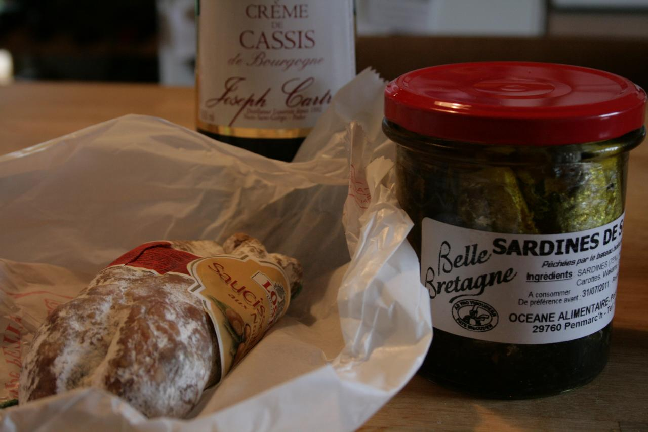 French regional specialities