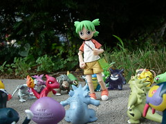 Pokemon Path (Yoshi Gizmo) Tags: girl japan toy toys explore figure pokemon collectable yotsuba revoltech summervacationset
