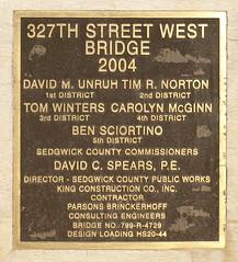 327th Street West Bridge, Sedgwick County, Kansas