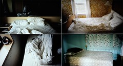 we remember bedrooms: (jackie young.) Tags: from road beds sleepy t4