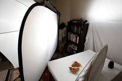Turkey Pizza Lighting Set up