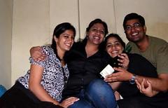 Group pic (Ritesh Kapur) Tags: me july neha mumbai deepa 2009 ipsita sherepunjab july252009 khoobaishki