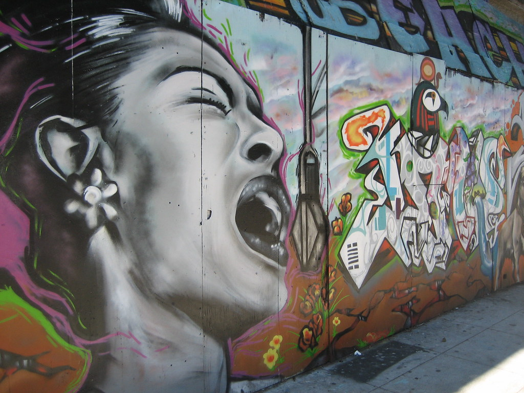 The world 39 s best photos of billieholiday and mural for Billie holiday mural