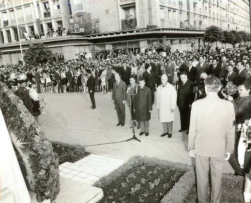 Ceausescu la Ploiesti (mai 1967)