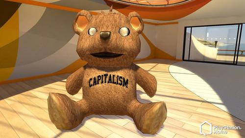 PlayStation Home Diesel Bear